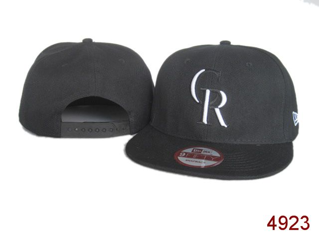 Colorado Rockies Snapback Hat SG 3807